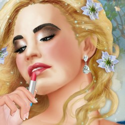 We are looking for a cosmetics for Cinderella Beauty's wedding.